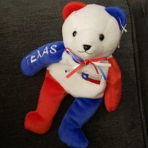 Stuffed Animal Texas Bear.